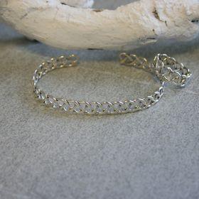 901766 armband ring set zilver floor
